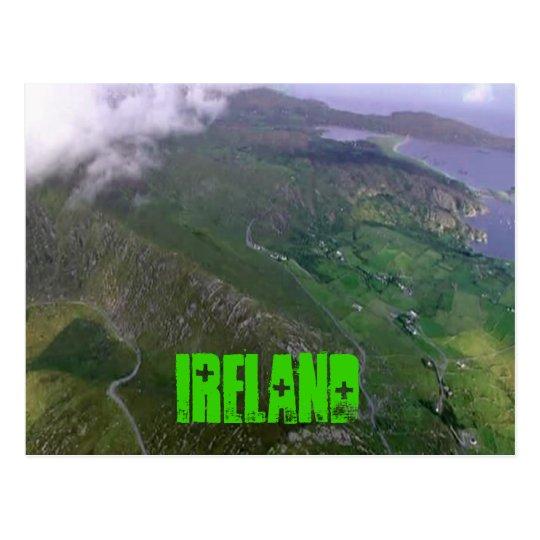 The Beautiful Irish Coast Postcard