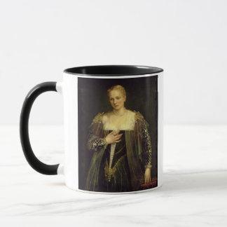 The Beautiful Nani (oil on canvas) Mug