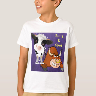 The beautiful one and the beast Cowstyle T-Shirt