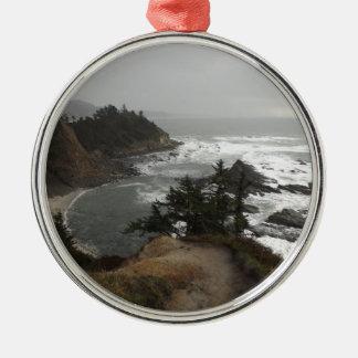 The beautiful Oregon coast Metal Ornament