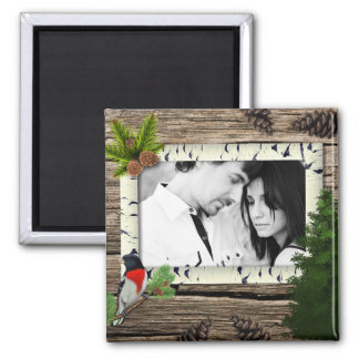 The Beautiful Outdoors Add Your Photo Magnet