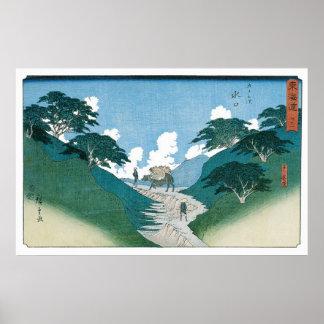 The Beautiful Pines, by Utagawa Hiroshige Poster