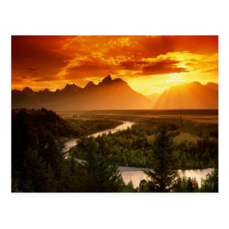 The Beautiful Snake River Postcard