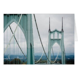 The beautiful St. John's Bridge Card