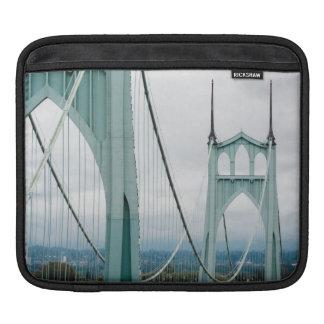 The beautiful St. John's Bridge iPad Sleeve