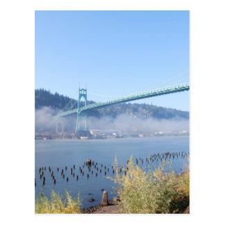 The Beautiful St. Johns Bridge Postcard