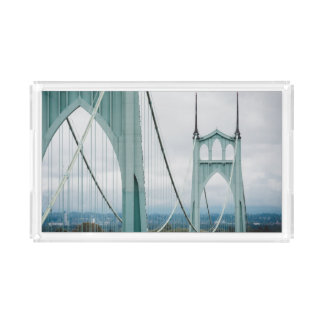 The beautiful St. John's Bridge Serving Tray