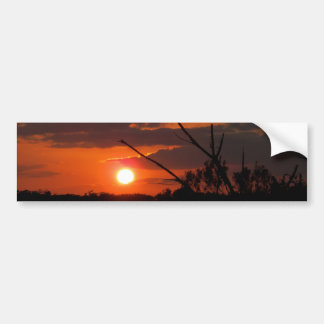 The Beautiful Sunset Bumper Sticker