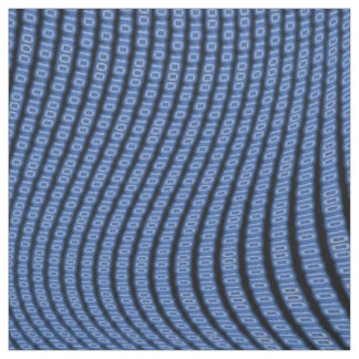 The Beauty of Binary Blue BOBA Fabric