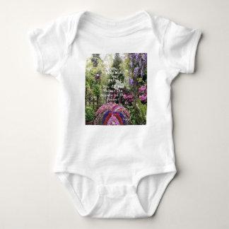 The beauty of flowers of garden is a great scenery baby bodysuit