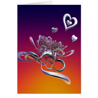 The Beauty of Hearts Card