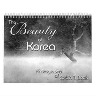 The Beauty of Korea Calendars