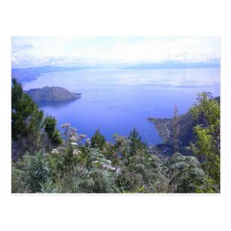 The Beauty of Lake Toba Postcard