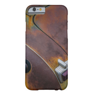 The beauty of texture of an aged vintage car barely there iPhone 6 case