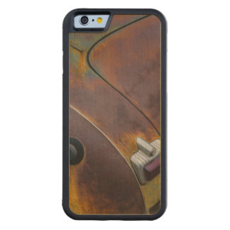 The beauty of texture of an aged vintage car carved maple iPhone 6 bumper case