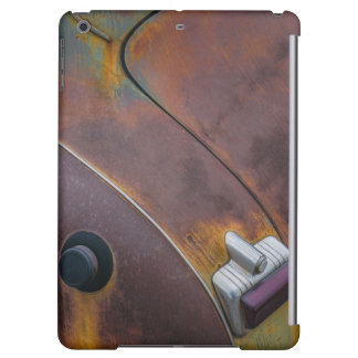 The beauty of texture of an aged vintage car case for iPad air
