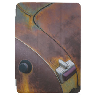 The beauty of texture of an aged vintage car iPad air cover