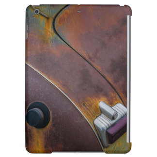 The beauty of texture of an aged vintage car iPad air covers