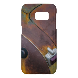 The beauty of texture of an aged vintage car samsung galaxy s7 case