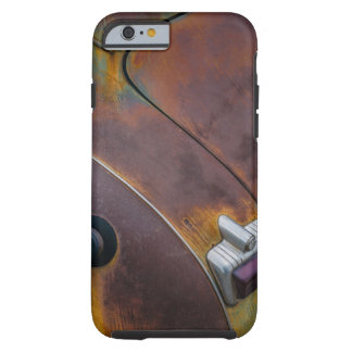 The beauty of texture of an aged vintage car tough iPhone 6 case