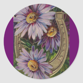 The Beauty of Vintage Classic Round Sticker