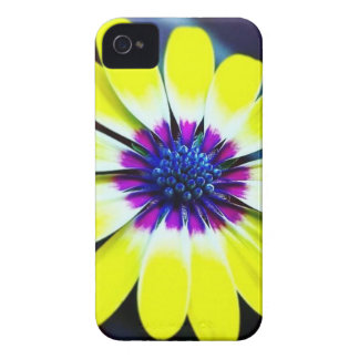 The Beauty of Yellow and Purple iPhone 4 Cover