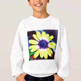 The Beauty of Yellow and Purple Sweatshirt