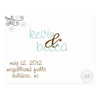 the Becca Collection Postcard
