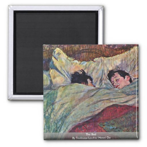 The Bed,  By Toulouse-Lautrec Henri Magnet