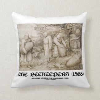 The Beekeepers (1568) Pieter Bruegel The Elder Throw Pillow