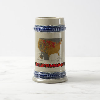The Beer Belly of America Beer Stein