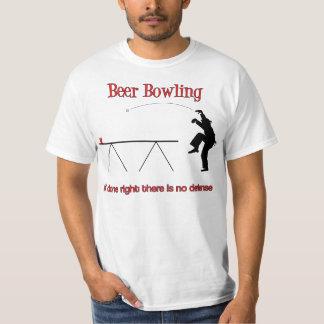 The Beer Bowling Crane Shirt Alternate