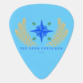 The Beer Explorer Guitar Pick