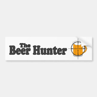The Beer Hunter Bumper Sticker
