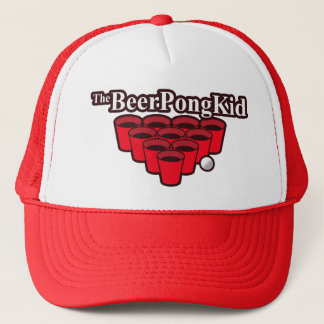 The Beer Pong Kid Came To Win This Thing Trucker Hat