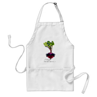 The beet goes on-light apron