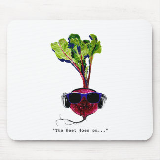 The beet goes on-light mouse pad