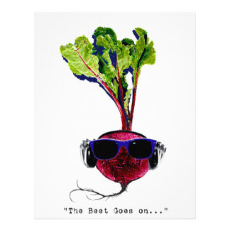 The beet goes on-light personalized letterhead