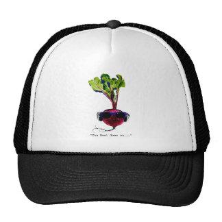 The beet goes on-light trucker hats