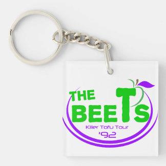 The Beets Killer Tofu Tour Keychain