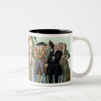 The Beginning of the French Revolution Two-Tone Coffee Mug