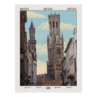 The Belfry in Brugge Postcard
