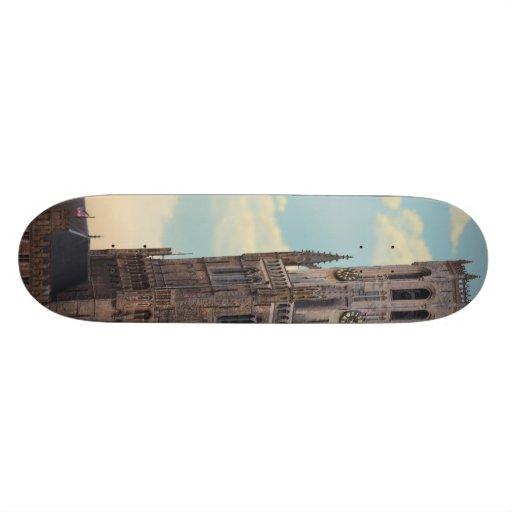 The Belfry in Brugge Skate Board