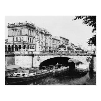 The Belle-Alliance Bridge, Berlin, c.1910 Postcard