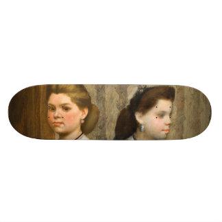 The Bellelli Sisters by Edgar Degas Skate Decks