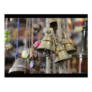 The Bells of Pahar Ganj Postcard