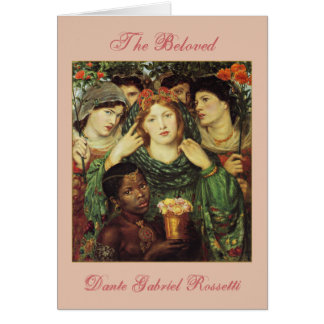The Beloved by Dante Raphael Rossetti Card
