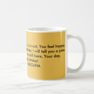 THE BELOVED NJUGUNA POETRY HAPPY BIRTHDAY MUG