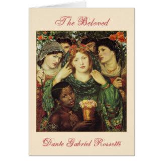 The Beloved Pre-Raphaelite Valentine Card