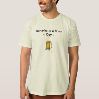 The Benefits of a Brew A Day Tee